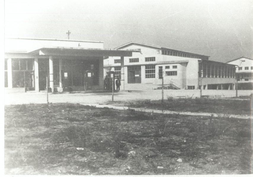 Ob bencinski črpalki je kmalu nastala nova stavba Agroservisa.