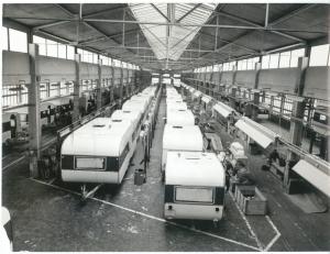 Od sredine 70-let neločljiva programska in poslovna dejavnost, paradni konj IMV na evropskih trgih. Program počitniških prikolic, linja v stari tovarni.