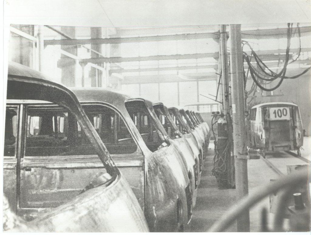 Stota karoserija lastnega vozila IMV 1000, 1961.