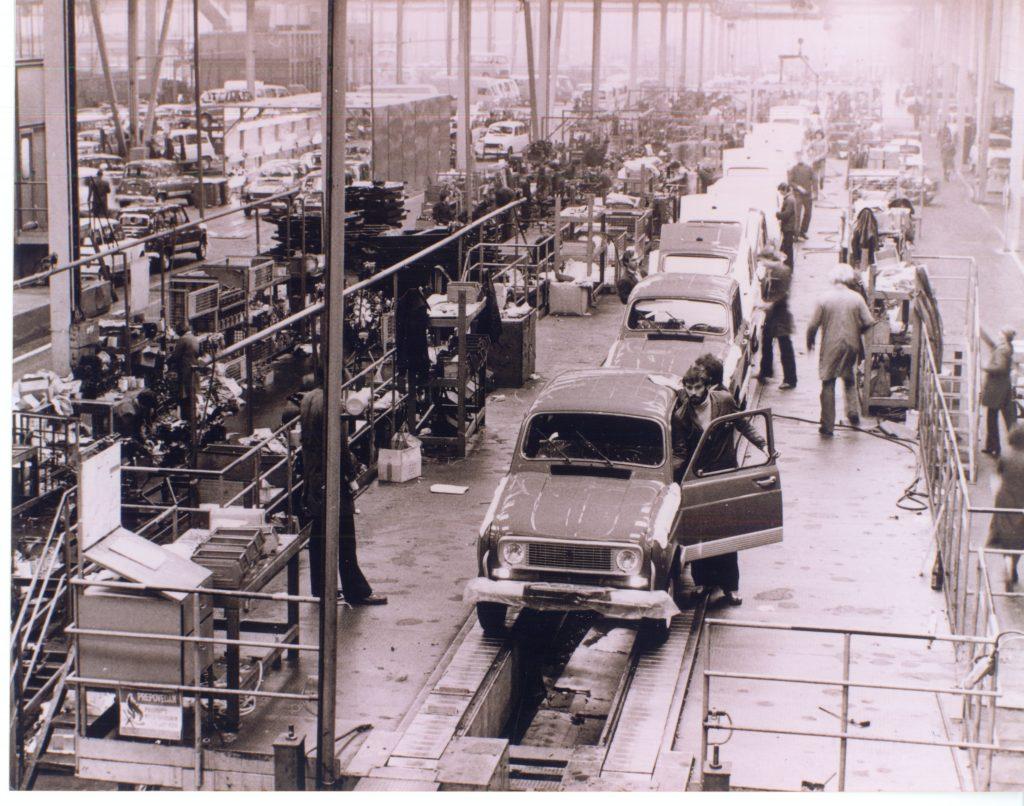 V začetku sedemdesetih let prejšnjega stoletja so začeli izdelovati vozila Renault, prve so bile R4-Katrce.
