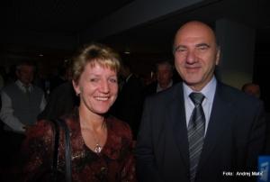 Sonja Gole in Franc Štupar. foto:Andrej Matič