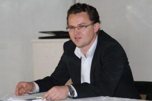 Matej Rifelj, kustos zgodovinar iz Dolenjskega muzeja. foto:Igor Vidmar.