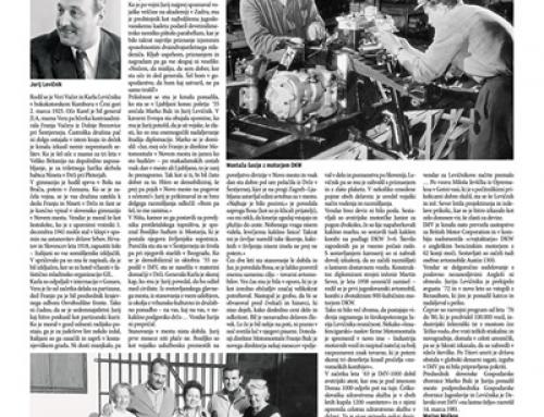 Pred 30 leti je odšel Jurij Levičnik